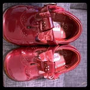Other - Cute ruby red baby shoes